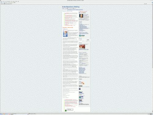 Enda.goblogmedia.com pada layar lebar