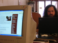 This site featuring Richard Stallman and Richard Stallman himself