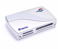 Pretec 6-in-1 card reader