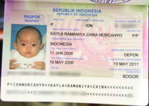 Paspor Kayla