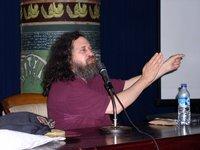 Stallman at stage